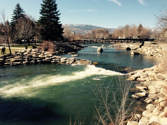 Downtown Reno Truckee River