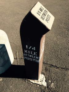 Quarter Mile Markers
