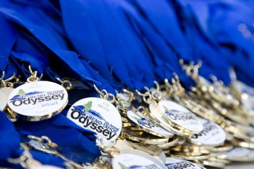 Reno Tahoe Odyssey Relay Medal Photo Credit: VisitRenoTahoe.com