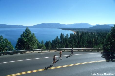 Photo Credit: Lake Tahoe Marathon www.laketahoemarathon.com