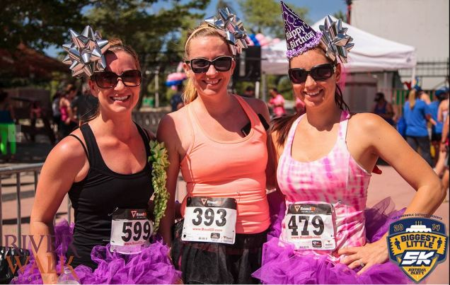 2014 Biggest Little 5k Birthday Run Photo Credit: Riverwalk District http://bit.ly/1y6O2ce